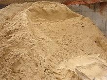 Скидки на песок строительный